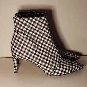 Rag and Bone Beha Ankle Boot Gingham